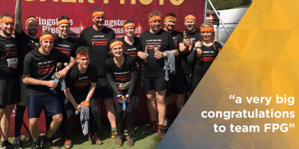 Team FPG At The Tough Mudder